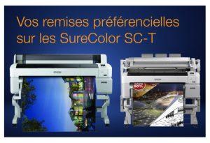 Remises préférentielles sur la gamme technique SureColor SC-Tx200