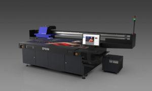 SureColor SC-V7000 L'impression UV Led                  avec la qualité Epson.